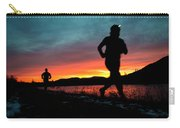 Early Morning Trail Running Carry-all Pouch