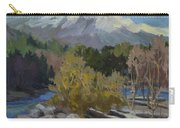 Early Snow Cascade Mountains Carry-all Pouch