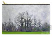 Early Spring Landscape  Digital Paint Carry-all Pouch
