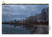 Early Still And Transparent - On The Shores Of Lake Ontario In Toronto Carry-all Pouch