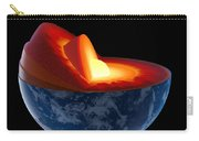 Earth Core Structure - Isolated Carry-all Pouch