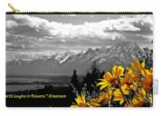 Earth Laughs In Flowers Carry-all Pouch by Dan Sproul