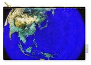 Earth Seen From Space Australia And Azia Carry-all Pouch