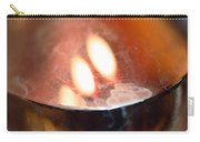 Earth Tone Art - Warmth By Sharon Cummings Carry-all Pouch by Sharon Cummings