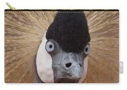 East African Crowned Crane 6 Carry-all Pouch