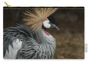 East African Crowned Crane Painterly Carry-all Pouch