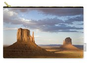 East And West Mittens Monument Valley Carry-all Pouch