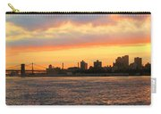 East River At Sunrise Carry-all Pouch