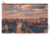 East River Bridges Carry-all Pouch