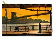 East River Sunset Carry-all Pouch