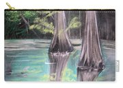 East Texas Cyprus In Pastels Carry-all Pouch