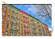 East Village Buildings On East Fourth Street And Bowery Carry-all Pouch