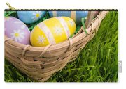 Easter Basket Carry-all Pouch by Edward Fielding