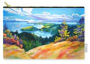 Easter Bluff View Carry-all Pouch