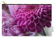 Easter Bouquet Flowers Mums And Dahlia Carry-all Pouch