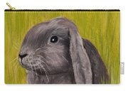 Easter Bunny Carry-all Pouch by Anastasiya Malakhova