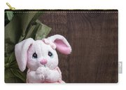 Easter Bunny Carry-all Pouch by Edward Fielding