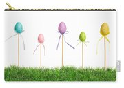 Easter Eggs In Grass Carry-all Pouch