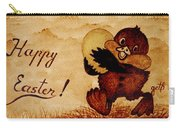 Easter Golden Egg Coffee Painting Carry-all Pouch