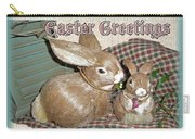 Easter Greetings - Bunnies Carry-all Pouch