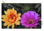 Easter Lilly Cactus Flowers  Carry-all Pouch