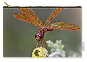 Eastern Amberwing Dragonfly Carry-all Pouch