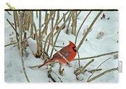 Eastern Cardinal - Cardinalis Cardinalis Carry-all Pouch