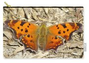 Eastern Comma Carry-all Pouch