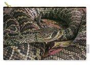 Eastern Diamondback Rattlesnake 1 Carry-all Pouch