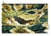 Eastern Diamondback Rattlesnake Carry-all Pouch