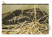 Eastern Massasauga Rattlesnake Sistrurus Catenatus Poster Look Carry-all Pouch