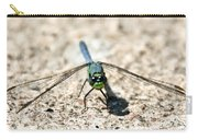 Eastern Pondhawk Front Carry-all Pouch