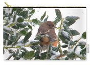 Eastern Rufous-sided Towhee Carry-all Pouch