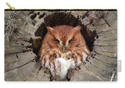 Eastern Screech Owl Carry-all Pouch