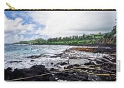 Eastern Shore Of Maui Carry-all Pouch