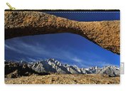 Eastern Sierra Nevada Mountains Lathe Arch Carry-all Pouch