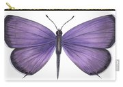 Eastern Tailed Blue Butterfly Carry-all Pouch by Anonymous