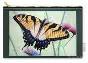Eastern Tiger Swallowtail Butterfly By George Wood Carry-all Pouch