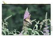 Eastern Tiger Swallowtail Butterfly -  Featured In Wildlife Group Carry-all Pouch
