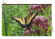 Eastern Tiger Swallowtail On Joe Pye Weed Carry-all Pouch