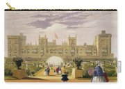Eastern View Of The Castle And Garden Carry-all Pouch