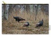 Eastern Wild Turkeys Carry-all Pouch