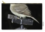 Eastern Wood Peewee On Tripod Carry-all Pouch
