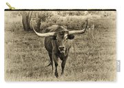Eat Leaf Not Beef Sepia Carry-all Pouch