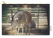 Eating Zebra Carry-all Pouch