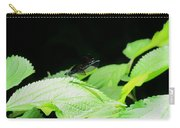 Ebony Jewelwing Male Carry-all Pouch