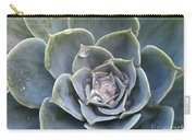 Echeveria With Water Drops Carry-all Pouch