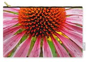Echinacea Flower Upclose Filtered Carry-all Pouch