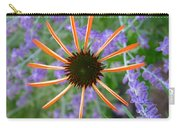 Echinacea Mango Carry-all Pouch