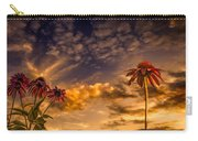 Echinacea Sunset Carry-all Pouch by Bob Orsillo